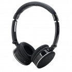 OYK OK-102 Stylish Wireless Headband Bluetooth VB2.1 Headset w/ Microphone - Black