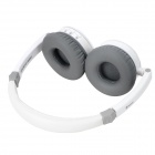 OYK OK-101 Stylish Wireless Headband Blueooth V2.1 Music Headset w/ Microphone - White