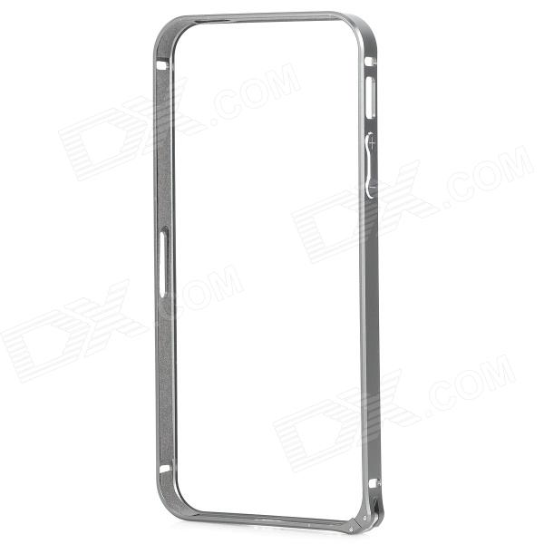Protective Aluminium Alloy Bumper Frame for IPHONE 5 / 5s - Grey
