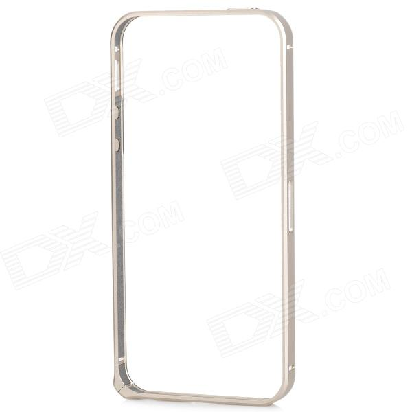 Protective Aluminium Alloy Bumper Frame for IPHONE 5 / 5s - Champagne protective aluminium alloy bumper frame for iphone 5 5s grey