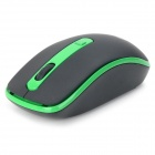 JEWAY JM1270 Wireless Power Saving Mouse for Tablet PC - Black + Green (1 x AA)