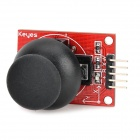 keyes Double-shaft Button Control PS2 Gaming Control for Arduino - Red + Black