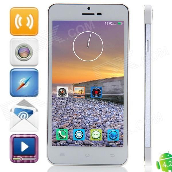 Haipainoble X3s MTK6592 Octa-Core Android 4.2.2 WCDMA Bar Phone w/ 5.0″ OGS HD, Wi-Fi, OTG, GPS