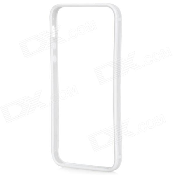 Protective Ultra Thin Bumper Frame for IPHONE 5 / 5s - White