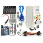 DIY Basic Starter Kit for Arduino – Deep Blue + Multicolored
