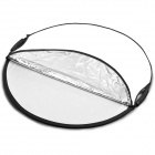 Double Hand-held Portable 110cm 5-in-1 Round Reflector Board