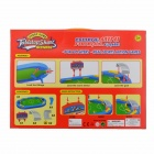 76788 Tabletop Pinball Soccer Game - Green + Blue