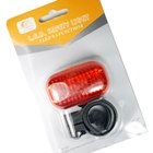3-LED Safety Bike Tail Light 2xAAA
