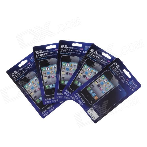 Newtop Protective Clear Screen Protector Guard Film for Samsung Galaxy Win Pro G3812 (5 PCS) newtop protective clear screen protector guard film for samsung g3812 transparent