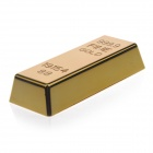Lingot d'or en forme de « 5600mAh » Lithium Batterie Source d'énergie Mobile w / LED Light - Golden