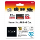 Sony MS-HX32B HG Duo HX card -32GB