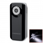"BP Fisheye ""5600mAh"" Mobile Power Source w/ Stroboscopic LED Light for IPHONE / Samsung / HTC -Black"