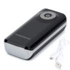 "BP fisheye ""5600mAh"" source d'alimentation mobile avec LED stroboscopique pour IPHONE / samsung / HTC-noir"