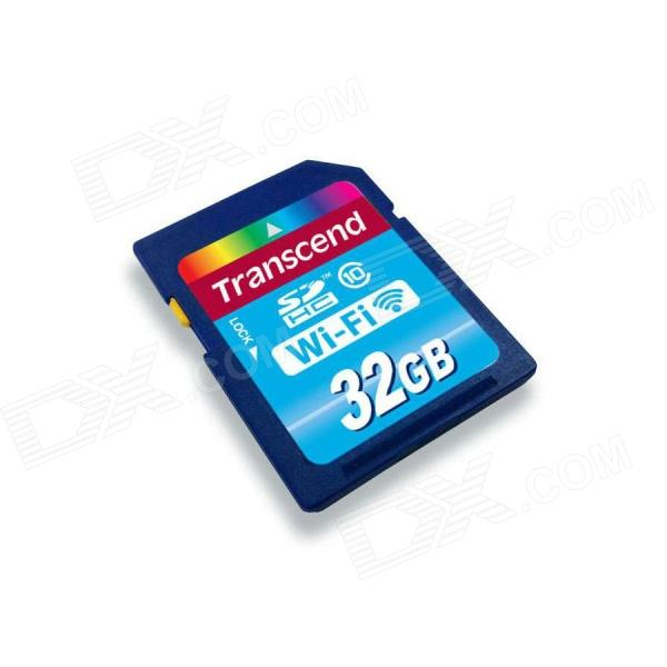 Transcend 32GB Wi-Fi SDHC Class 10 Flash Memory Card - Free Shipping - DealExtreme