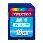 Transcend 16GB Wi-Fi SDHC Class 10 Flash Memory Card
