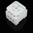 Шнайдер EA9X425 25A 4-Plug Power Socket - Бежевый (220 ~ 250 В)