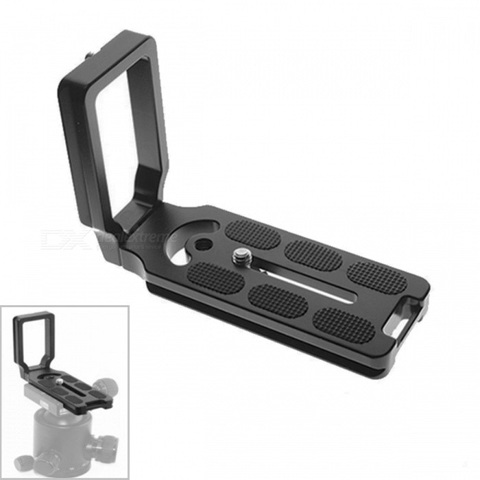 MPU105 MPU100 Aluminum Alloy Quick General-L Release Plate for Camera - Black
