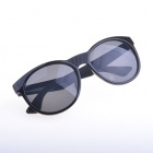 OREKA K356 Stylish Retro Round Lens UV400 Sunglasses - Black