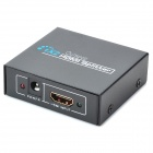 OURSPOP HDMI V1.3 1-Input 2-Output F-F Splitter - Black (AC100~240V)