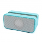 HIG-SEE BT58 Portable Bluetooth v2.1 Media Player Speaker w/ TF for IPHONE - Blue