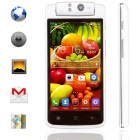 "KICCY T908 Free Rotation Camera Dual-core Android 4.2 WCDMA Phone w/ 4.5"" QHD, 8MP, 4GB ROM - White"