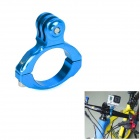 Universal Aluminum Bicycle Mount Clip for GoPro SJ4000 - Blue