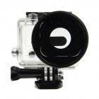 HighPro Precision CNC Alloy Aluminum Alloy 58mm Lens Converter Ring for GoPro Hero 3 Housing - Black