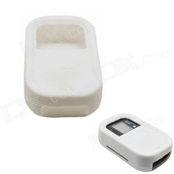 BZ112 Silicone Case for GoPro Hero 3+ / 3 Remote Controller - White