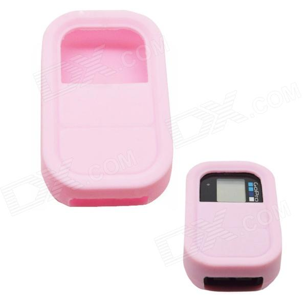 BZ112 Silicone Case for GoPro Hero 3+ / 3 Remote Controller - Pink