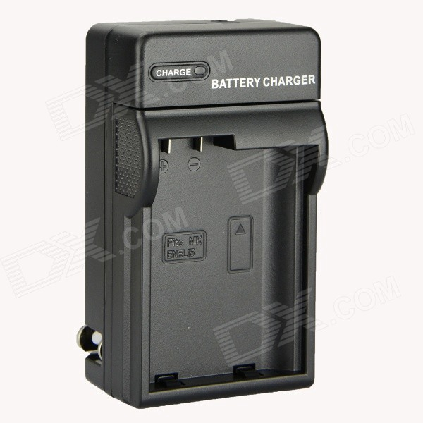 DSTE DC113 EN-EL15 Battery Charger for Nikon D800 / D800E / D7000 / D600 / D7100 / D810 - Black dste bp88b аккумулятор для samsung mv900 mv900f цифровая камера