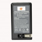 DSTE DC149 EN-EL15 Battery Charger for Nikon D800 / D800E / D7000 / D600 / D7100 / D810 - Black