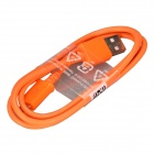 Micro USB Male to USB 2.0 Male Data Sync / Charging Cable for Samsung Galaxy S4 / S3 + More - Orange