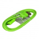Micro USB Male to USB 2.0 Male Data Sync / Charging Cable for Samsung Galaxy S4 / S3 + More - Green