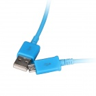 Micro USB Male to USB 2.0 Male Data Sync / Charging Cable for Samsung Galaxy S4 / S3 + More - Blue