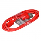 Micro USB macho a USB 2.0 Male Data Sync / cable de carga para Samsung Galaxy S4 / S3 + Más - Rojo