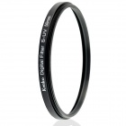 Kenko Ultrathin S-UV Camera Lens Filter - Black + Transparent (58mm)