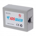 D200006 HLDX-2008 ADSL 1-to-2 Lightning Protection Voice Splitter - Gray