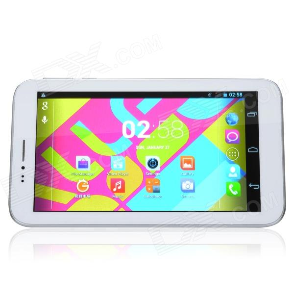 ALLFINE Fine7 Phone 7 Dual Core Android 4.2 Tablet PC w/ 512MB RAM, 4GB ROM, Bluetooth - White