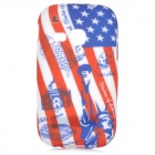 sunshine Graffiti Style Liberty Pattern Back Case for Samsung Galaxy Young S6310 - Multicolored