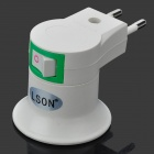 LSON EU-Plug to E27 Adapter - White