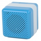Q3 Portable Wireless Bluetooth V2.1 Speaker - Blue + White
