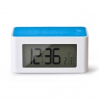 Wireless Mutual Induction Magical Speaker Music Box for Cell Phone w/ 4'' LCD / FM / Alarm / Clock