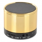 SK-S10 Universal Mini Portable Bluetooth V2.1 Speaker w/ TF / Microphone - Light Golden + Black
