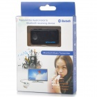 Rechargeable Bluetooth V2.1 Music Transmitter w/ 3.5mm / Micro USB - Black