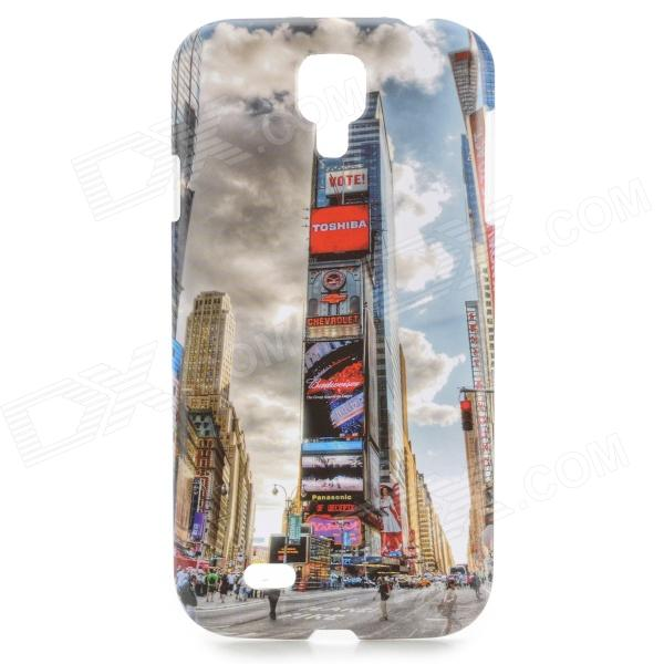 Britain London Style Building Pattern Protective ABS Back Case for Samsung Galaxy S4 i9500 protective cute spots pattern back case for samsung galaxy s4 i9500 multicolored
