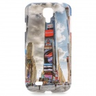 Britain London Style Building Pattern Protective ABS Back Case for Samsung Galaxy S4 i9500
