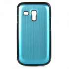 Protective Aluminium Alloy Back Case for Samsung Galaxy S3 Mini / i8190 - Sky Blue