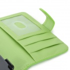 Protective PU Leather Case w/ Stylus Pen for Sony Xperia Z1 / Xperia i1 L39h - Green