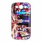 London Night View Pattern Protective ABS Back Case for Samsung Galaxy S3 i9300 - Multicolored