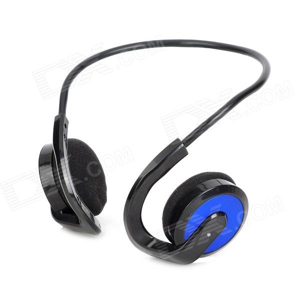OYK OK-100 Wireless Bluetooth V2.1 Earhook Sports Headphone for IPHONE / IPAD - Blue - DXBluetooth Headphones<br>Color Black Blue Brand OYK Model OK-100 Material ABS Quantity 1 Piece Shade Of Color Blue Ear Coupling Ear-hook Bluetooth Version V2.1 Operating Range 10m Radio Tuner No Microphone No Supports Music Yes Connects Two Phones Simultaneously No Applicable Products IPHONE 5IPHONE 4IPHONE 4SIPHONE 3GIPODIPAD Built-in Battery Capacity 185 mAh Battery Type Li-polymer battery Talk Time 8 Hour Music Play Time 10h Standby Time 150 Hour Plug Specifications OthersUSB Packing List 1 x Headphone 1 x Chinese / English user manual 1 x USB cable (80cm) 1 x Audio cable (80cm)<br>